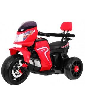 Elektrická motorka Bike Pusher červená